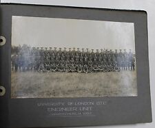 PHOTOGRAPH ALBUM, UNIV. LONDON OFFICER TRAINING CORPS, ENGINEER CAMPS,1928-1930