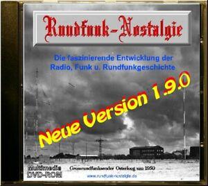 Röhrenradio Radio Volksempfänger Funk u. Rundfunk Nostalgie in Bild u. Ton