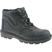 MODERN ANKLE TRAINER BOOTS SIZES 5-13 UK BLACK /& HONEY MENS LADIES SAFETY STEEL TOE CAP WORK BOOTS
