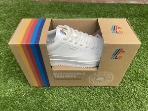 Aldi Mania White Trainers UK SIZE 8 - BRAND NEW AND BOXED FREE DELIVERY VEGAN