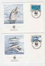 1990 Monserat Dolphins SG833/6 WWF Covers or Fine Used
