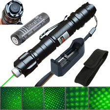 10 Miles Military 1mw Green Laser Pointer Pen Light 532nm Visible Beam + Battery