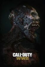 NAZI ZOMBIES CALL OF DUTY WORLD WAR TWO LAMINATED MINI A4 POSTER BLACK OPS B