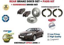für Chevrolet Epica 2.0i 2.0D 2008> Bremsscheiben SET HINTEN+Bremsbelag Satz +