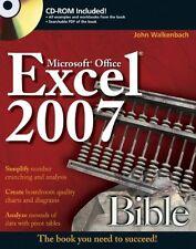 Excel 2007 Bible,John Walkenbach