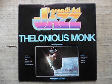 Thelonious Monk – I Grandi Del Jazz Etichetta: Fabbri Editori  - LP