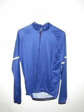 Blue Hincapie Long Sleeve Cool Weather Cycling Jersey Size M