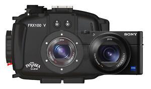 Fantasea FRX100 V Underwater Housing AND Sony RX100 VA Camera