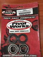 PWFWK-K08-521 PIVOT WORKS Cojinetes Kit Rueda Post Kawasaki KX125 KX250 RMZ250
