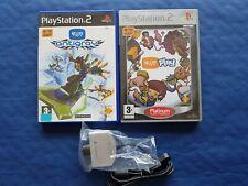 PlayStation 2 PS2 Lot de 2 jeux Eye Toy Play + Antigrav + Camera Eytoy