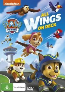 Brand New Paw Patrol DVD - All Wings On Deck by Nickelodeon  FREE POSTAGE