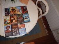 COLECCION DE 11 PELÍCULAS VHS