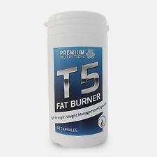 T5 Fat Burner / T5 Fat Burners -  60 Capsules - Weight Loss & Diet Pills