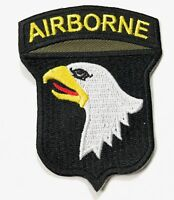 WWII US 101ST AIRBORNE PARATROOPER SLEEVE DIVISION INSIGNIA PATCH