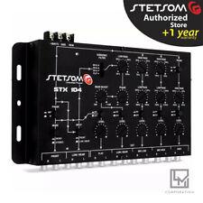 Stetsom STX 104 Crossover 5 Way Crossover Output STX104 Processor 3 Day Delivery