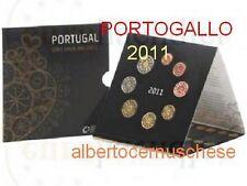 2011 Divisionale 8 monete EURO PORTOGALLO BU portugal