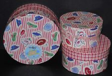 New! Muffy Vanderbear Boudoir Nesting Hat Box Set #4388