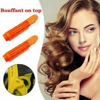 2 x Volumizing Hair Root Clips Curler Roller Wave Fluffy Clips Styling Tools