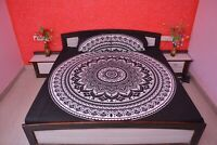 Mandala Bedding Cotton Tapestry Bohemian Queen Size Indian Hippie Bed Sheets