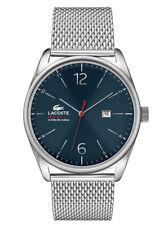 NIB Lacoste Men's Metallic 2010683 Austin Stainless Steel Bracelet Watch