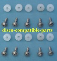 Land Rover Discovery 1 Carpet Trim Mounting Nuts & Screws A2 SS x 10