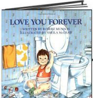 Love You Forever by Robert Munsch (Hardcover, Gift Edition) FREE Shipping $35