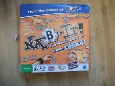 Nab It  Family Game Of Stolen Words By Hasbro Makers Of Boggle Nab-It Toy Board