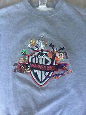 Vintage Looney Tunes Warner Bros Acme Clothing Sweatshirt S Cartoon -NICE
