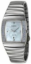 Rado Sintra Jubile Ceramos & Blue Sapphire Womens Luxury Watch Blue MOP Dial R13