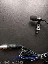 Pro Lavalier Microphone XLR 3Pin for AKG Wireless System mini XLR Lapel Mic XLR