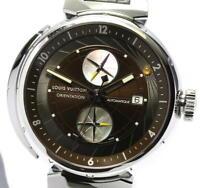 LOUIS VUITTON Tambour orientation Q10A1 Chronograph Automatic Men's Watch_548087