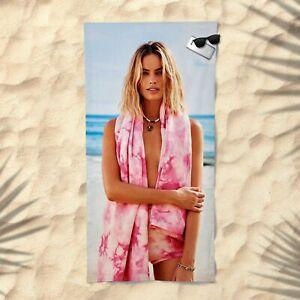 Margot Robbie Towel Beach Summer Bath Pool Gym Pretty Woman