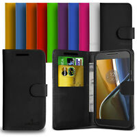 Custodia Case Flip Cover Pelle Anukku Portafogli Libro Per Motorola Moto G4 Plus