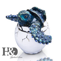 H&D Sea Turtle In Egg Jewelry Trinket Box Decorative Collectible Sea Fun Gifts