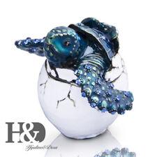 H&D Sea Turtle In Egg Jewelry Trinket Box Decorative Collectible Sea Fun Gifts