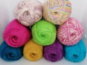 SALE YARN West Yorkshire Spinners Signature 4Ply 75% Wool 25% Nylon Sock Yarn