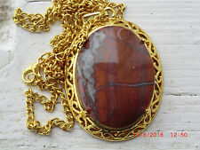 Utah Clay Canyon Agate Necklace