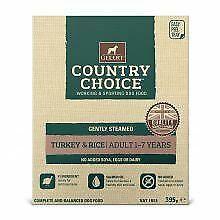 Gelert Country Choice Tray Turkey & Rice 10pk - 395g - 170494