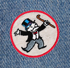 Cool Bank Robber Gangster Shirt Patch Badge 7.5cm