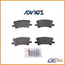 Rear Brake Pad kit Advics AD0996 For: Lexus RX330 RX350 RX400h Toyota Highlander