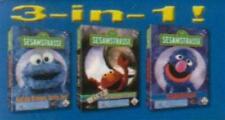 SESAMSTRASSE 3er Bundle - 4-6 JAHRE 3 SPIELE * BRANDNEU