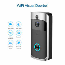 Wireless WiFi Smart Video DoorBell IR Visual Camera Record Home Security System