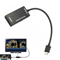 MHL Micro USB to HDMI HD TV Adapter Cable For Samsung galaxy S2 HTC MT