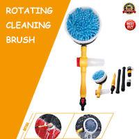AU Car Rotating Pole Vehicle Wash Washing Cleaning Brush Sponge Cleaner Hose