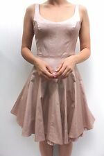 Karen Millen Tailored Pale Pink DQ281 Skater Prom Cocktail Party Dress 8 - 12