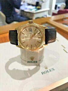 Rolex DateJust 1601 14k Yellow Gold