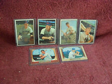 "LOT of TWENTY-FIVE (25) ""Original"" 1953/1954/1955 BOWMAN ""RARE"" ""Baseball"" CARDS"