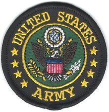 "2 1/2"" inch US Military Seal of the United States Army Embroidery Patch"
