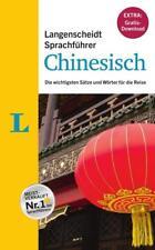 """Langenscheidt Sprachführer Chinesisch - Buch inklusive E-Book zum Thema """"Essen & Trinken"""" (2016, Kunststoffeinband)"""