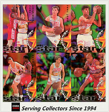 1995 Futera NBL Trading Cards Star Challenge Subset Full Set (10)